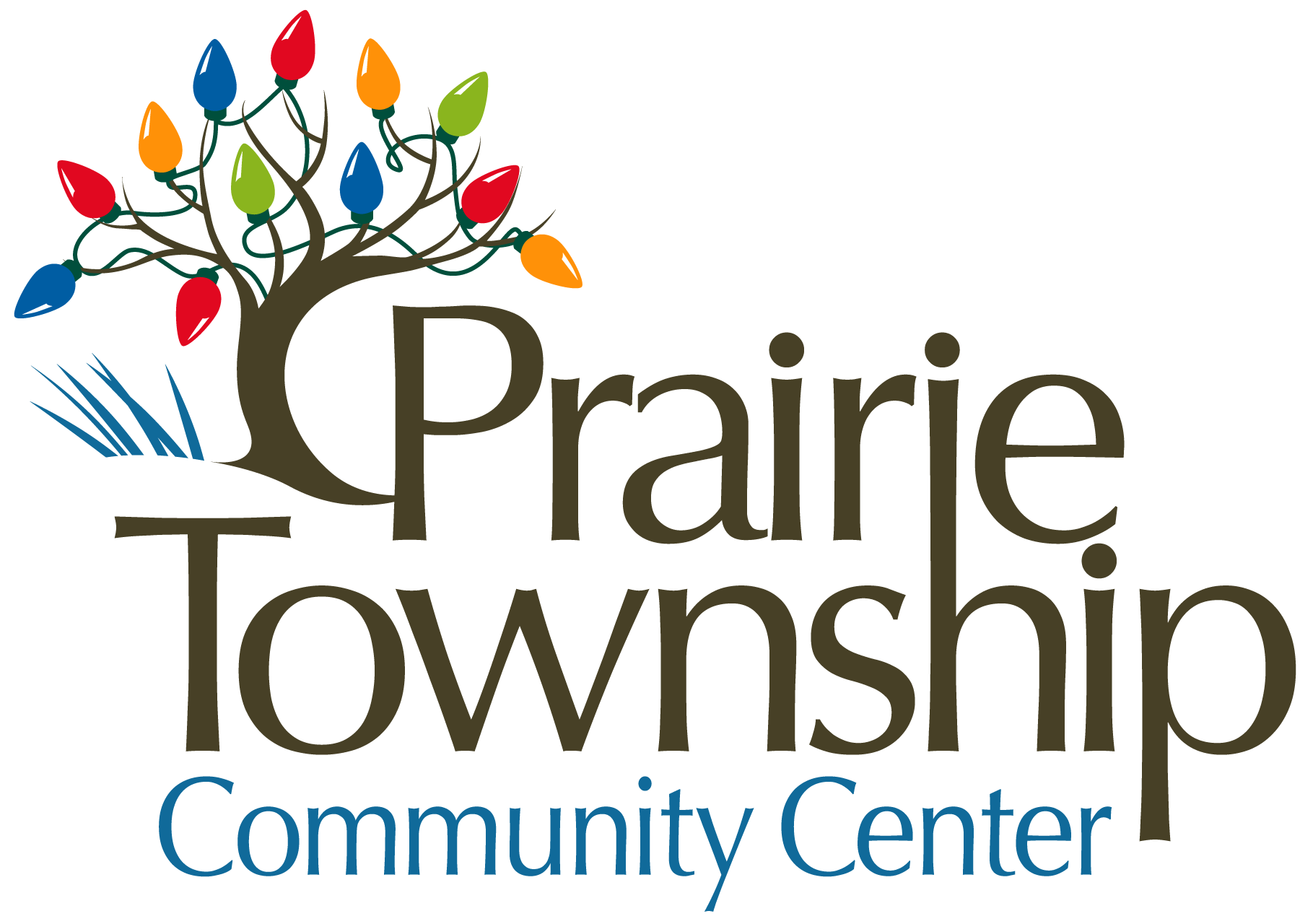Prairie Township Community Center Holiday Logo