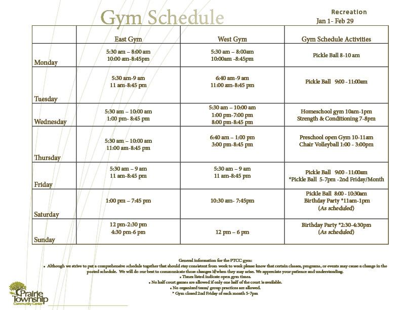 Jan-Feb 2020 Gym Schedule (1)