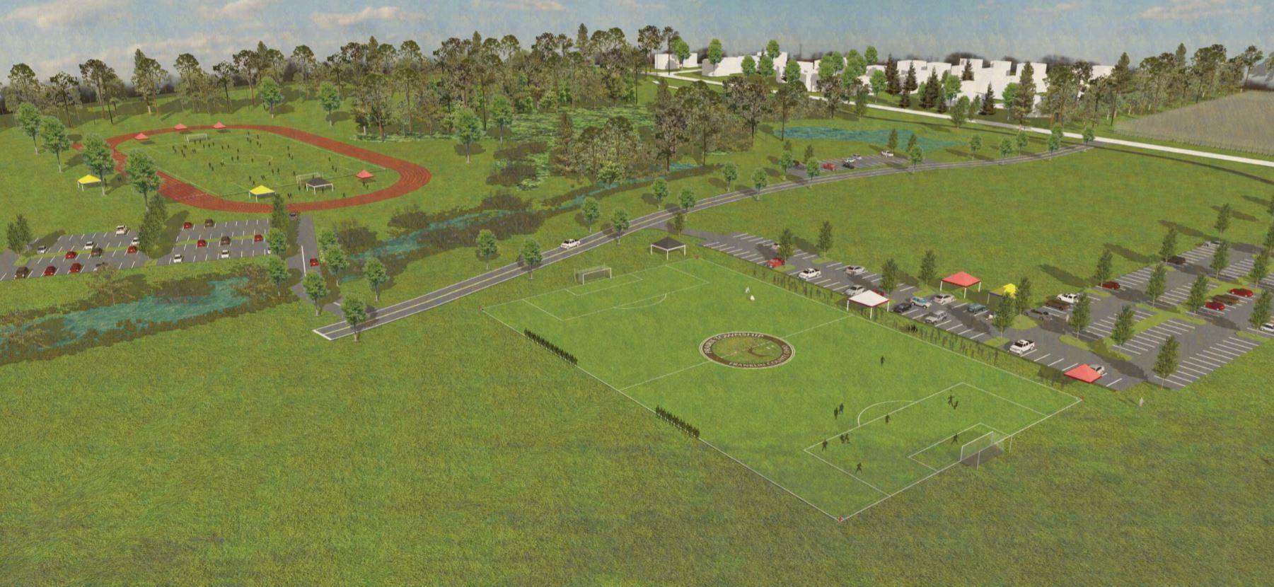 Prairie Township TOPSoccer Conceptual Design 2